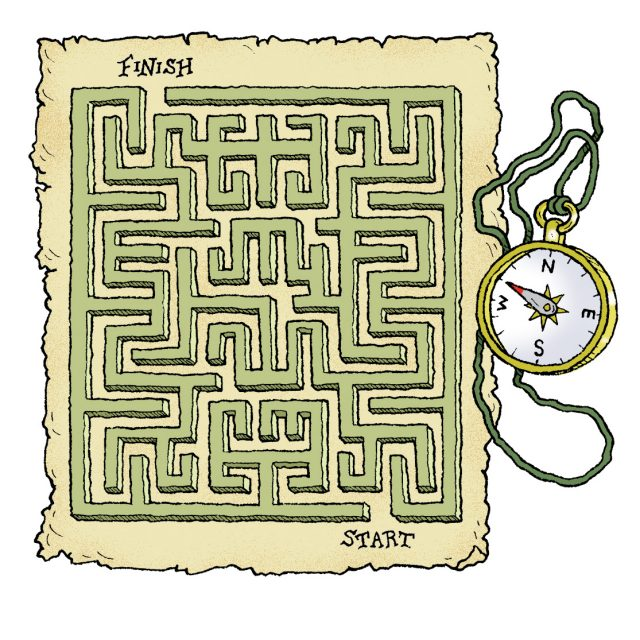 Amazing mazes, maps and puzzles